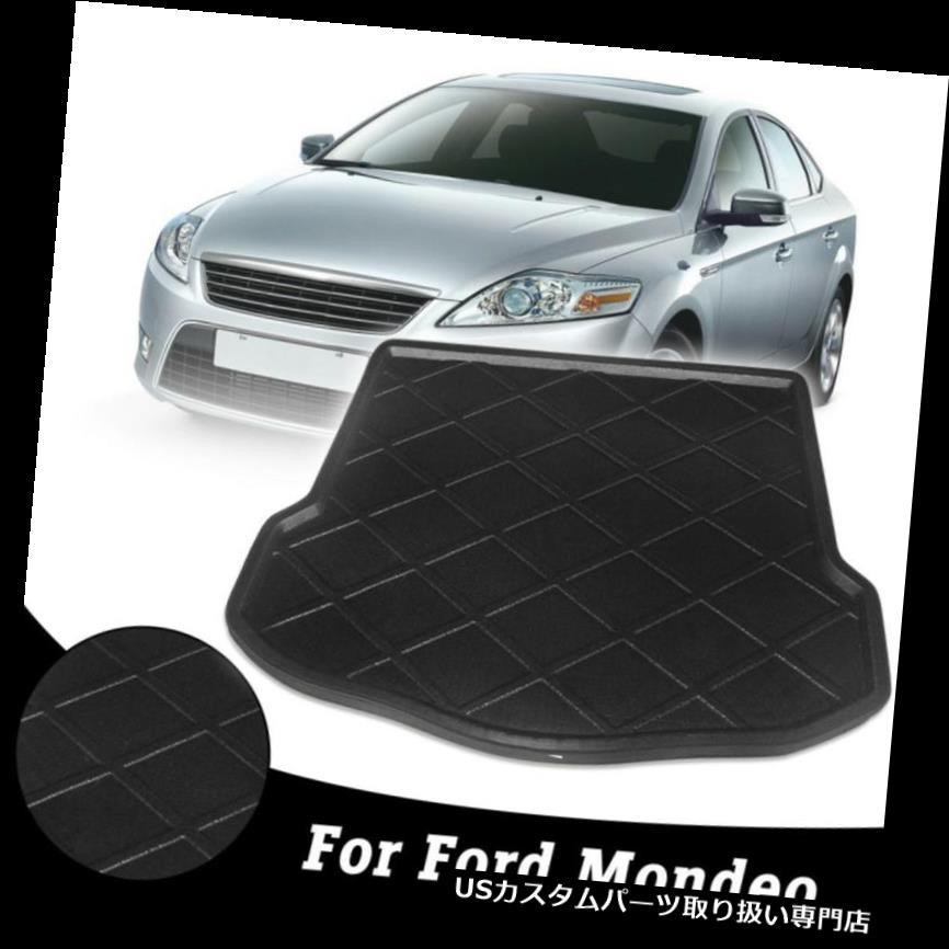 リアーカーゴカバー フォードモンデオ2007年のための後部車の自動皿のブーツはさみ金の貨物床のマットカバー Rear Car Auto Tray Boot Liner Cargo Floor Mat Cover for Ford Mondeo 2007