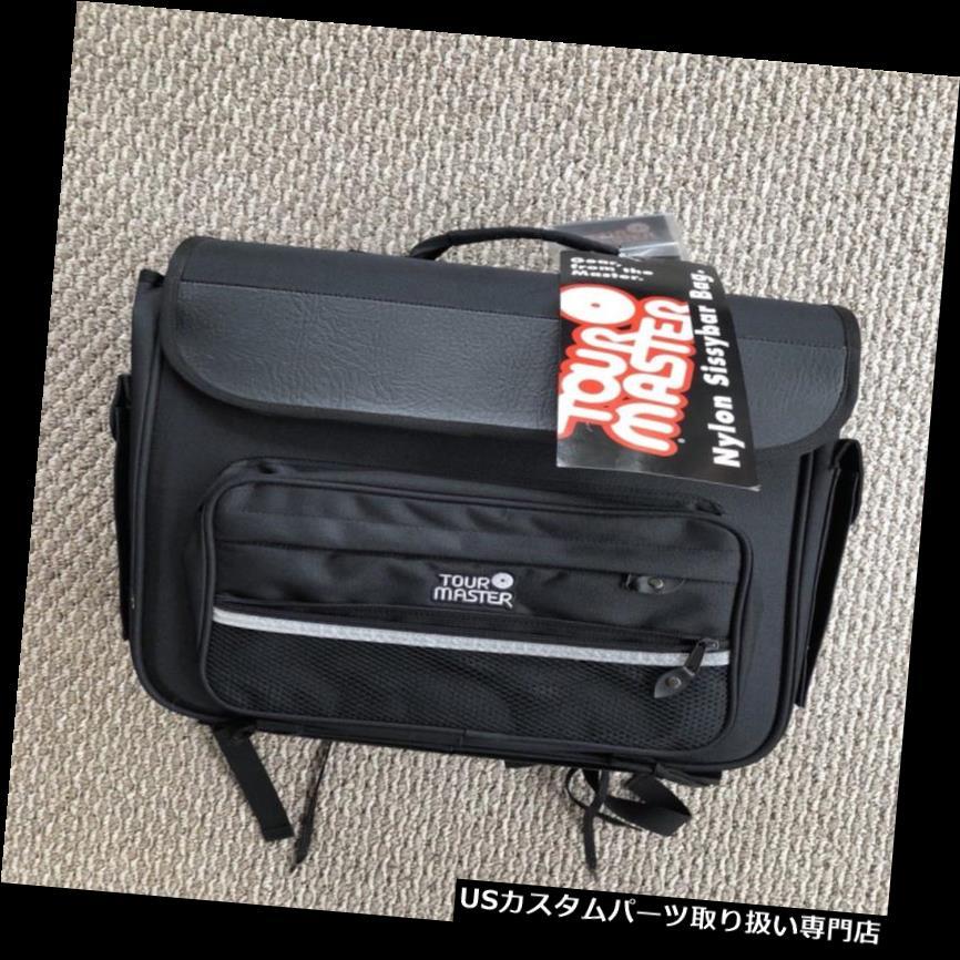 リアーカーゴカバー Tourmasterオートバイ荷物ナイロンシシーバー貨物ツアーバッグNWTレインダストカバー Tourmaster Motorcycle Luggage Nylon Sissy Bar Cargo Tour Bag NWT Rain Dust Cover