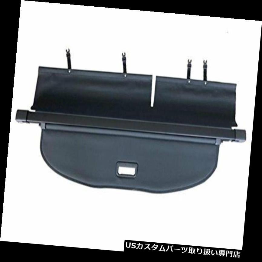 リアーカーゴカバー Vesul Black Tonneau Cover引き込み式リアトランク貨物荷物セキュリティシェード Vesul Black Tonneau Cover Retractable Rear Trunk Cargo Luggage Security Shade on
