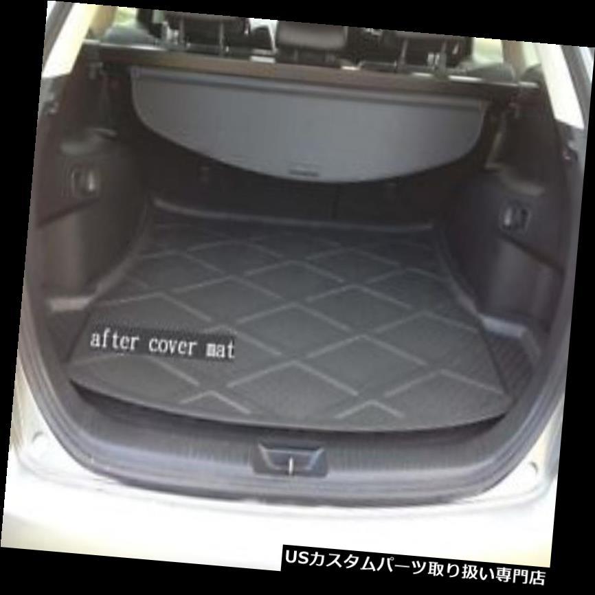 リアーカーゴカバー 車のパッドカーペットカーゴマットトランクライナートレイフロアマットフィットフォードエコスポーツ13-17 Car Pad Carpet Cargo Mat Trunk Liner Tray Floor Mat Fit For Ford EcoSport 13-17