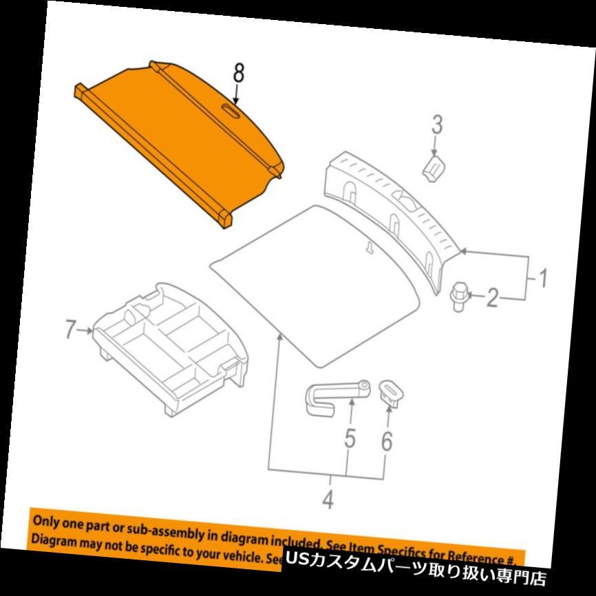 リアーカーゴカバー KIA OEM 11-16 Sportageカーゴカバー859103W000WK KIA OEM 11-16 Sportage-Cargo Cover 859103W000WK