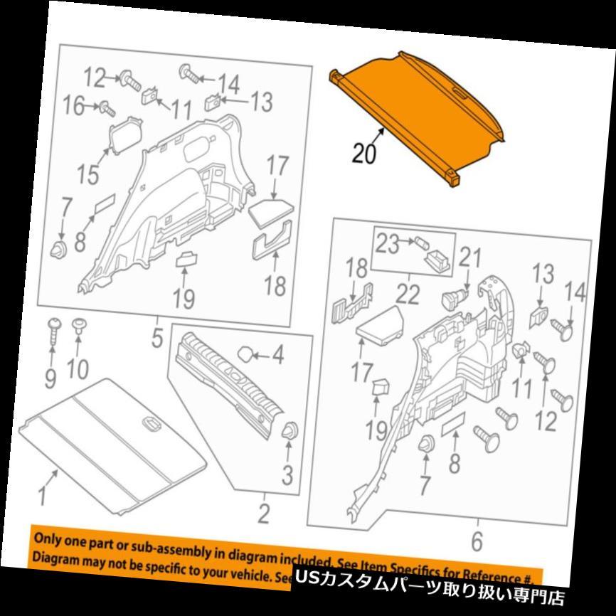 リアーカーゴカバー HYUNDAI OEM 16-18ツーソンカーゴカバー85910D3000TRY HYUNDAI OEM 16-18 Tucson-Cargo Cover 85910D3000TRY