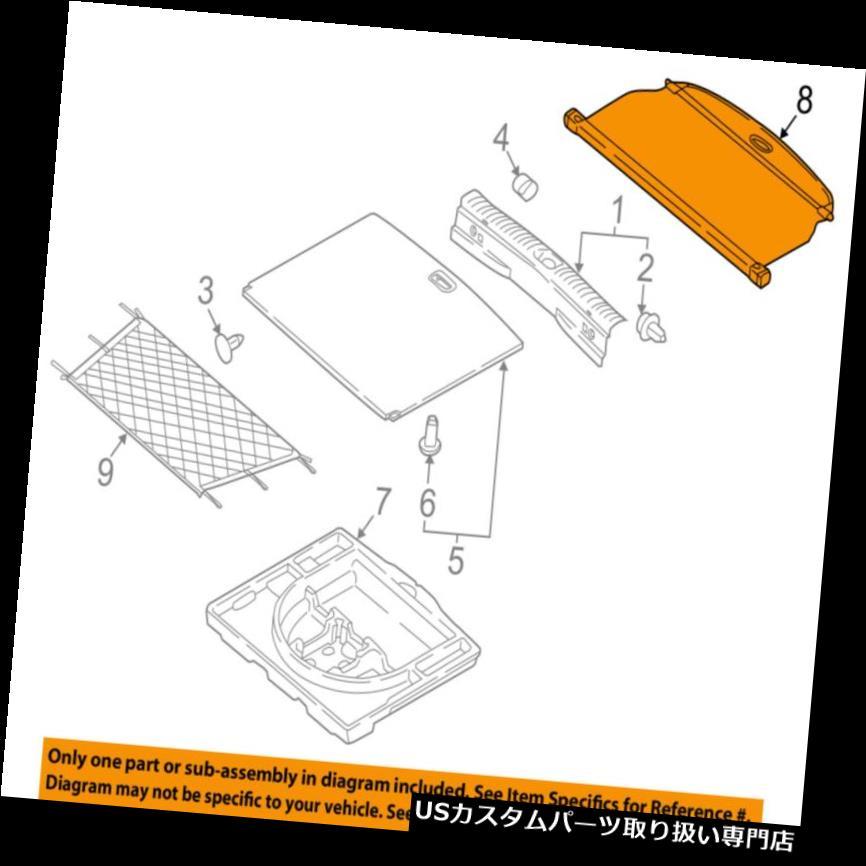 リアーカーゴカバー KIA OEM 17-18 Sportageカーゴカバー85910D9000 KIA OEM 17-18 Sportage-Cargo Cover 85910D9000