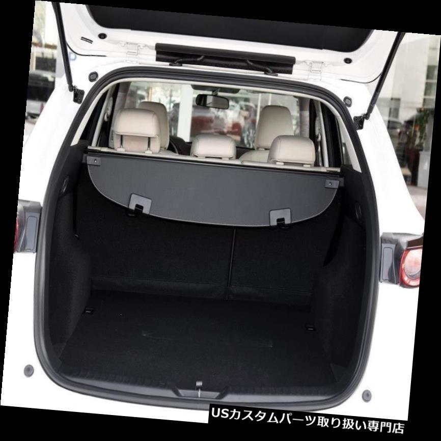 リアーカーゴカバー マツダCX-5 2017 2018用リアトランクパーセルセキュリティシールドカーゴ荷物カバー For Mazda CX-5 2017 2018 Rear Trunk Parcel Security Shield Cargo Luggage Cover