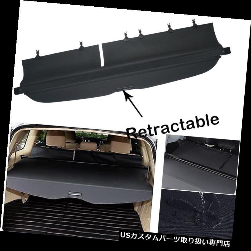 リアーカーゴカバー 2009-2013 SubAru ForesterマニュアルLiftgaeカーゴカバーリアトランクシェードブラック For 2009-2013 SubAru Forester manual Liftgae Cargo Cover Rear Trunk Shade Black