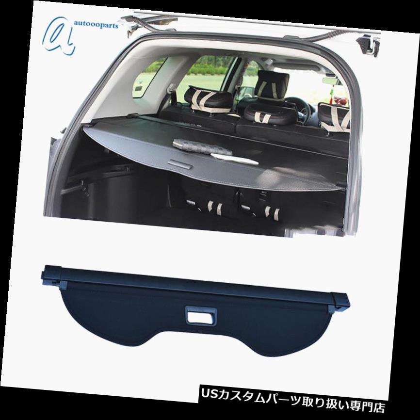 リアーカーゴカバー フォードエスケープ13-18用アップグレード格納式貨物カバートランクシールドプライバシーシェード Upgrade Retractable Cargo Cover Trunk Shield Privacy Shade for Ford Escape 13-18