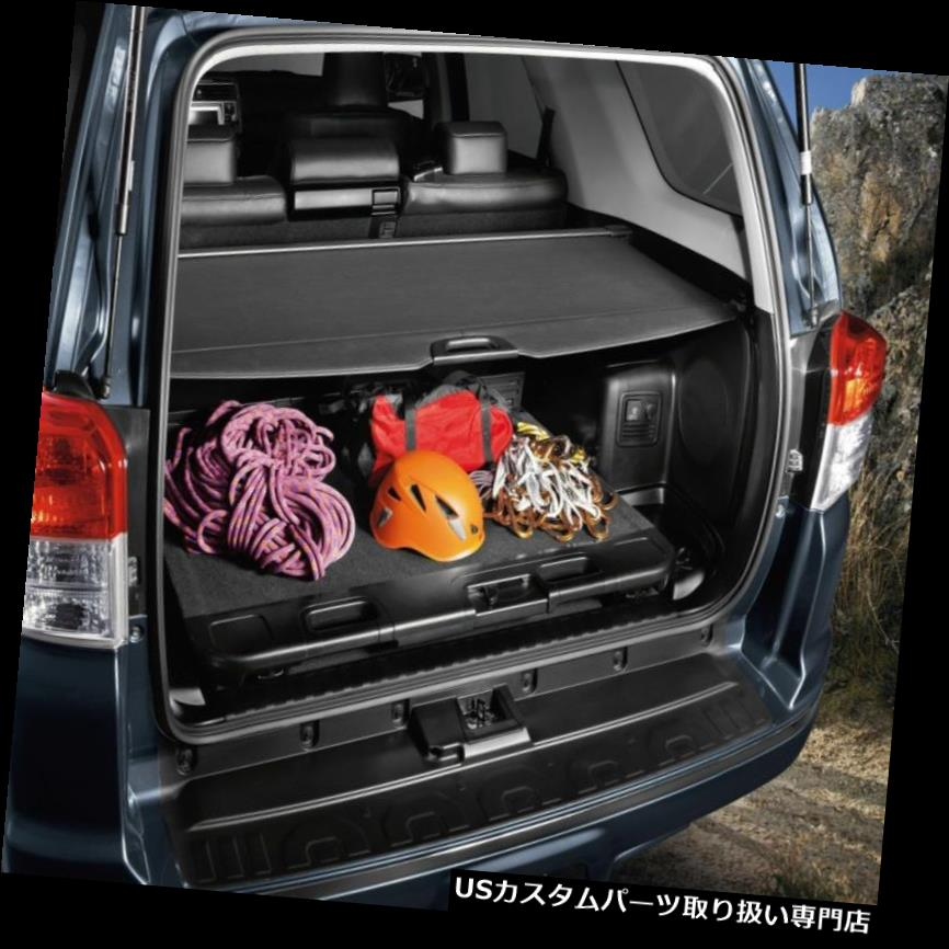 リアーカーゴカバー GENUINE TOYOTA 2010-2018 4ランナー引き込み式貨物トランクトノーカバーFEO NEW GENUINE TOYOTA 2010-2018 4Runner Retractable Cargo Trunk Tonneau Cover FEO NEW