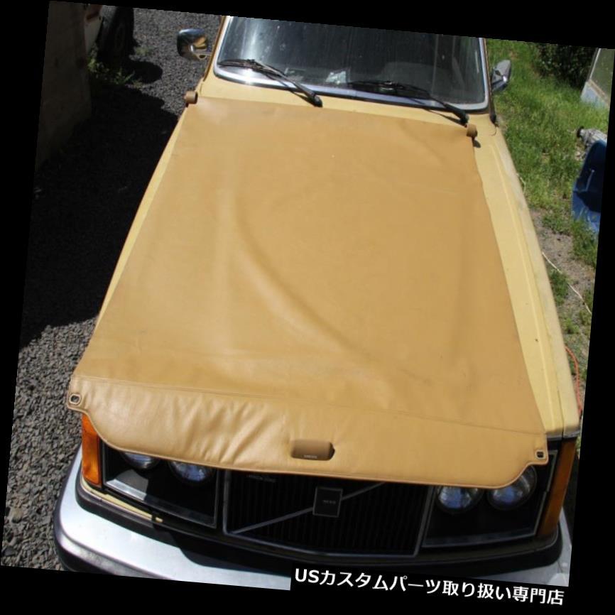 リアーカーゴカバー ボルボ240 245タンカーゴカバー - ハードウェアとの本物のEOボルボ - レア Volvo 240 245 Tan Cargo Cover - Genuine EO Volvo with hardware - rare