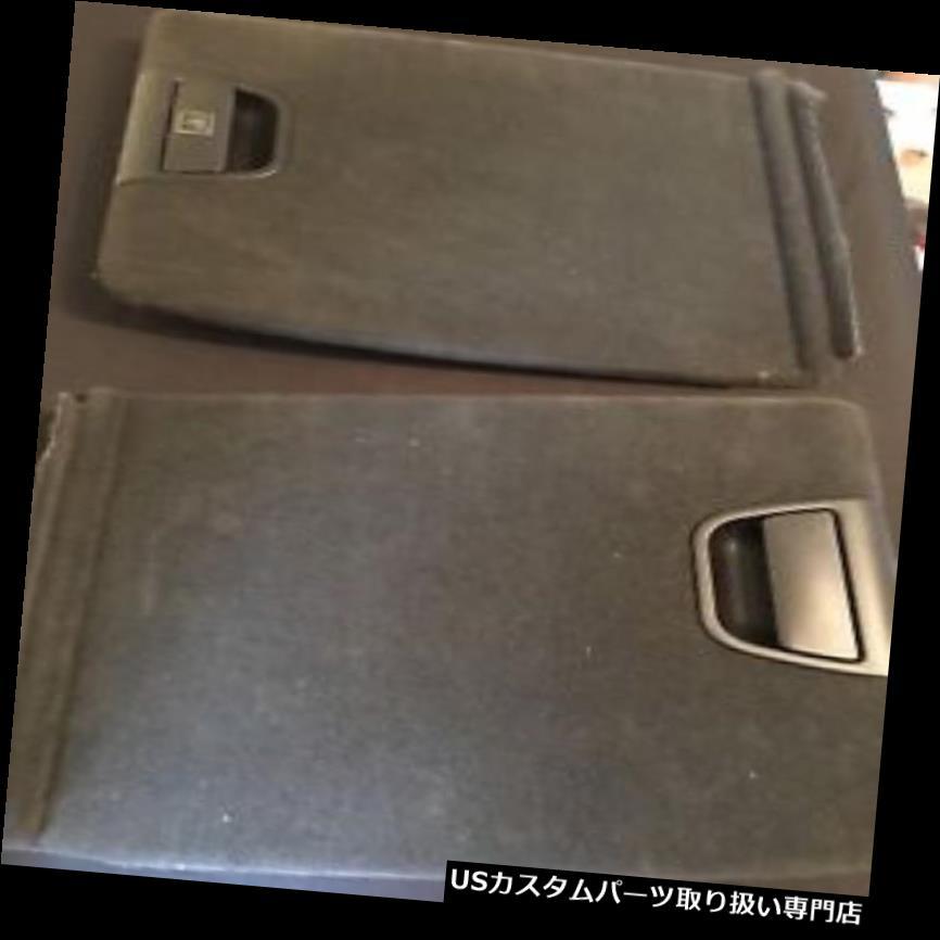 リアーカーゴカバー 後部左側の内部のトランクの貨物トリムパネルカバーブラックBMW E53 X 5 Rear Left Side Interior Trunk Cargo Trim Panel Cover Black BMW E53 X5