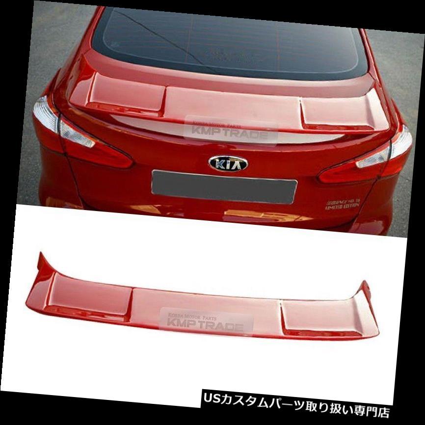GTウィング SPEC-GTリアトランク未塗装スポイラーリップウィング用KIA 2013-2018セラートフォルテK3 SPEC-GT Rear Trunk Unpainted Spoiler Lip Wing for KIA 2013-2018 Cerato Forte K3