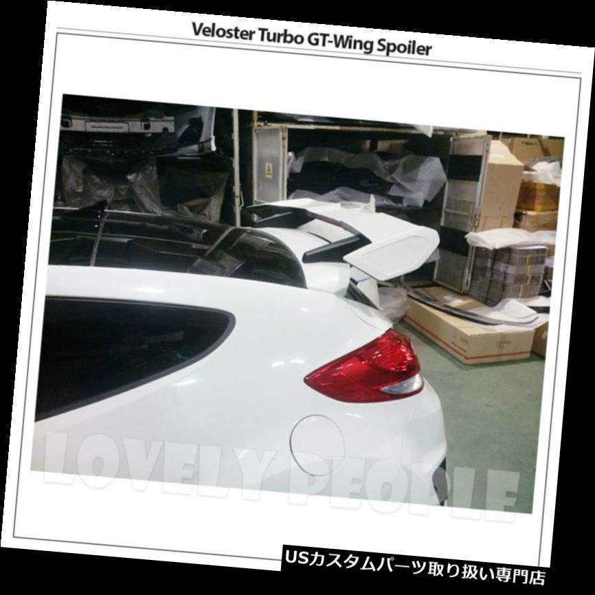GTウィング ヒュンダイVeloster 2011-2015用リアウイングルーフスポイラーFRP GTウイングタイプ非ターボ Rear Wing Roof Spoiler FRP GT-Wing Type Non-Turbo for Hyundai Veloster 2011-2015