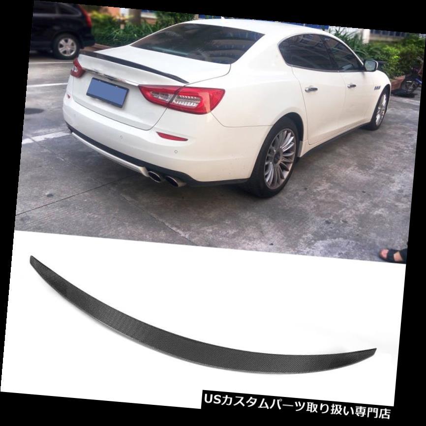 For Maserati Quattroporte13-15 Rear Trunk Spoiler Lip Wing Carbon Fiber Factory