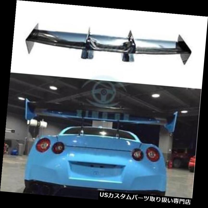 GTウィング 日産R35 GTR CBA DBA 2008-2014用カーボンファイバーリアスポイラーGTウィングフィット Carbon Fiber Rear Spoiler GT Wing Fit For Nissan R35 GTR CBA DBA 2008-2014