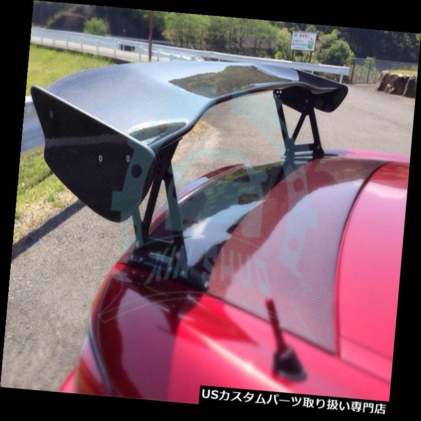 GTウィング ホンダS2000 JSカーボンファイバー295mmの高さBのための後部トランクスポイラーブーツGTの翼 Rear Trunk Spoiler Boot GT Wing For Honda S2000 JS Carbon Fiber 295mm Height B