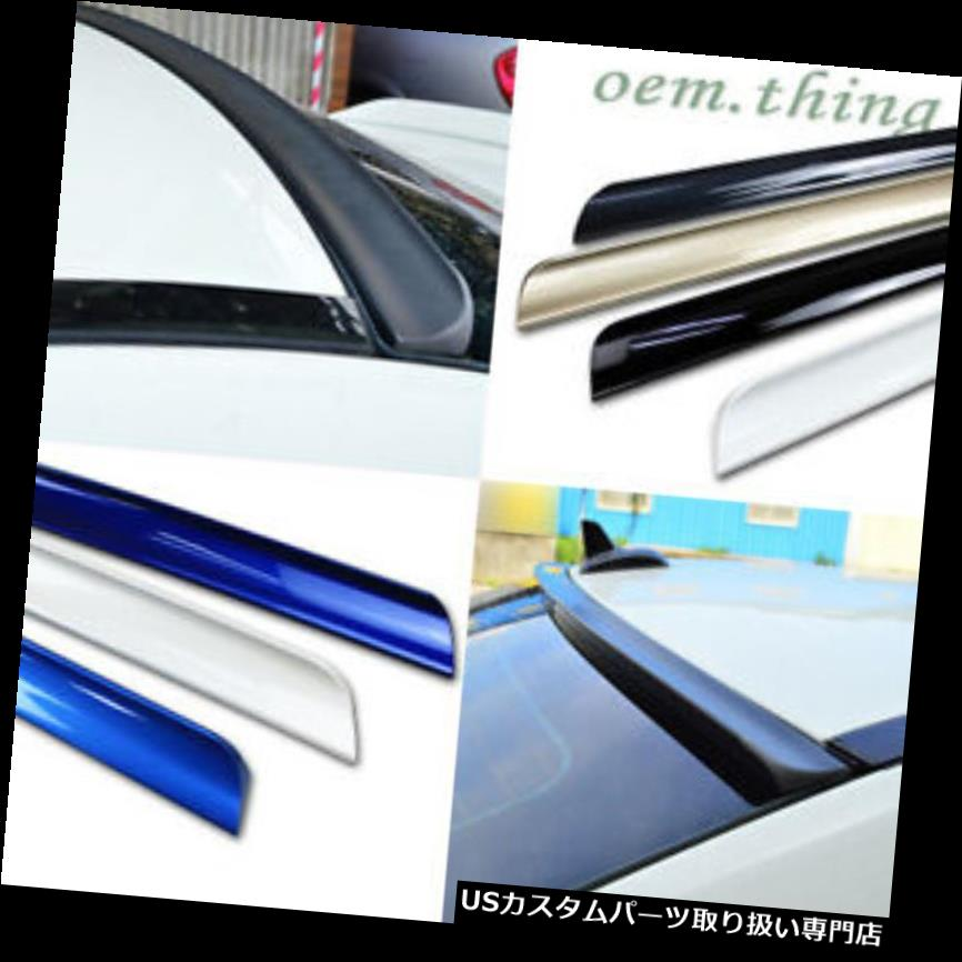 GTウィング GT-Rリアルーフリップスポイラーウィング2DクーペGTR 2007-2011 PUF用に塗装 Painted FOR GT-R Rear Roof Lip Spoiler Wing 2D Coupe GTR 2007-2011 PUF