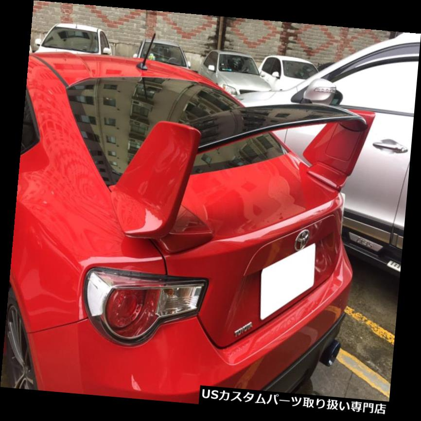 GTウィング トヨタGT86 BRZ SUBARU SCION NURトランクルスポイラーブーツウイング用塗装なしABS UNPAINTED ABS FOR TOYOTA GT86 BRZ SUBARU SCION NUR TRUNK SPOILER BOOT WING