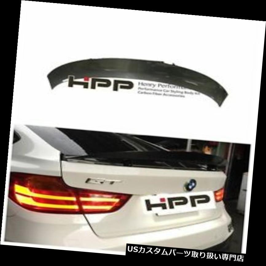 GTウィング BMW 3シリーズF34 GTハッチバックにフィットするカーボンファイバーリアブートスポイラーウイング13-15 Carbon Fiber Rear Boot Spoiler Wings Fit for BMW 3 Series F34 GT Hatchback 13-15