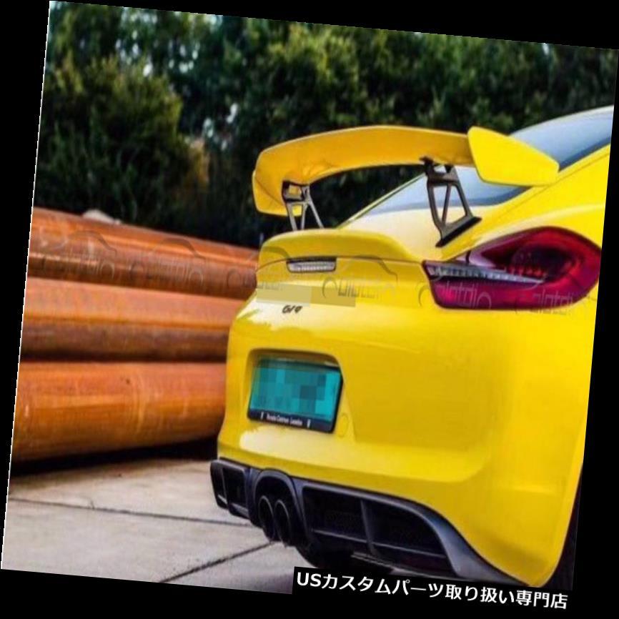 GTウィング ポルシェGT4スタイルリアトランクウィングスポイラー用リップフィット981ケイマンボクスター13-16 For Porsche GT4 Style Rear Trunk Wing Spoiler Lip Fits 981 Cayman Boxster 13-16