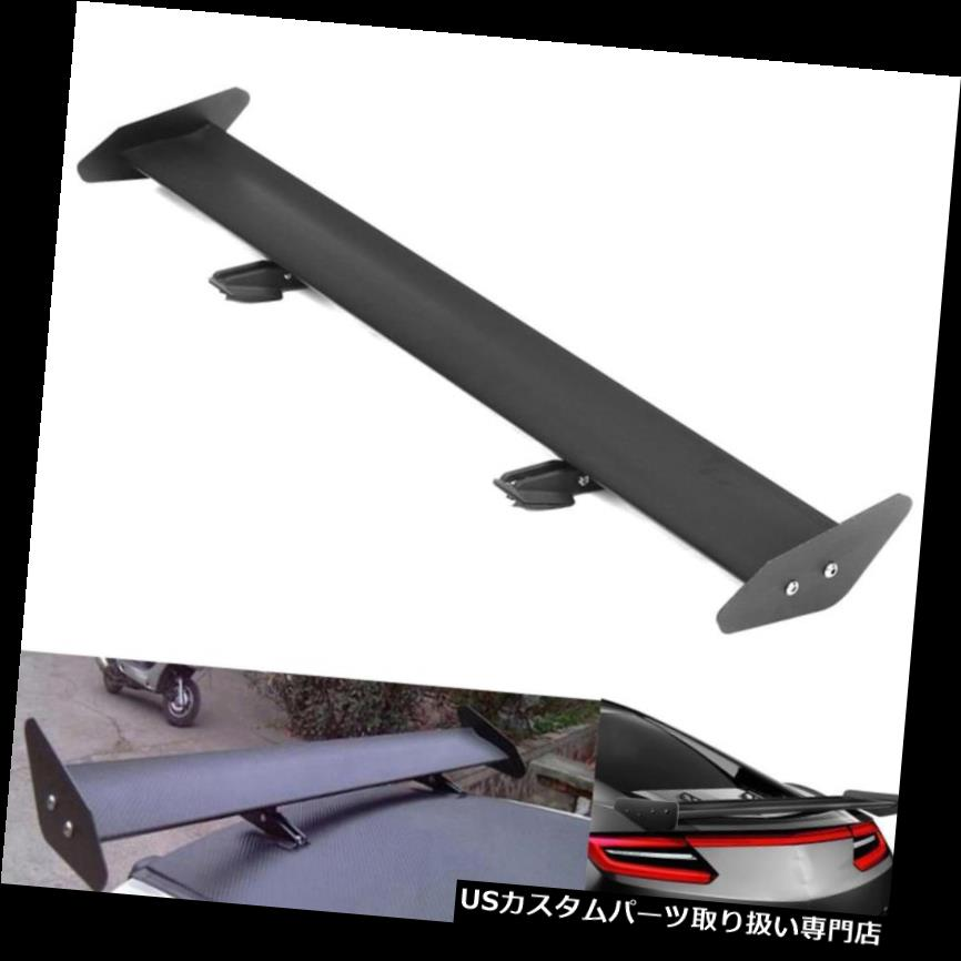 GTウィング 軽量110 cm車アルミシングルデッキリアGTスタイルレーシングスポイラーウイング Lightweight 110cm Car Aluminum Single Deck Rear GT Style Racing Spoiler Wing