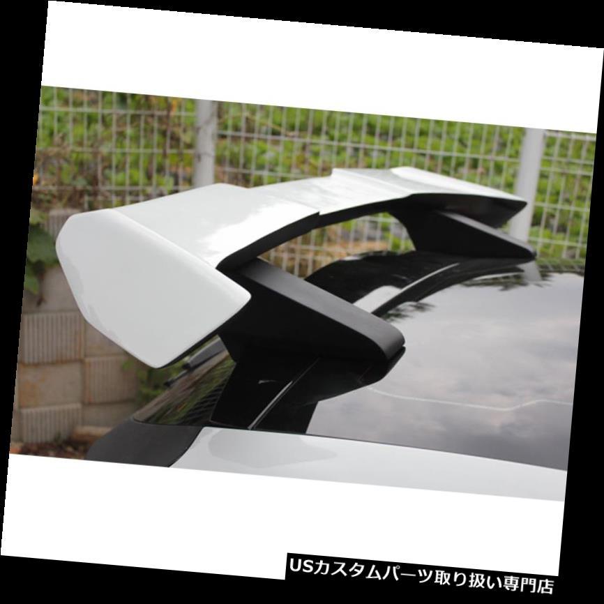 GTウィング 2011年2017年ヒュンダイVeloster用未塗装リアガラスウイングスポイラー Rear Glass Wing Spoiler UNPAINTED For 2011 2017 Hyundai Veloster