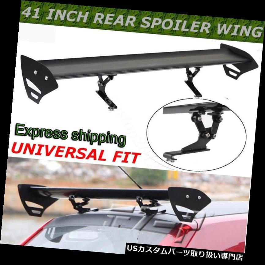 GTウィング 1.1Mの軽量の調節可能なGTの翼のスポイラーの後部トランクのスポイラーの翼の普遍的な 1.1M Lightweight Adjustable GT Wing Spoiler Rear Trunk Spoiler Wing Universal