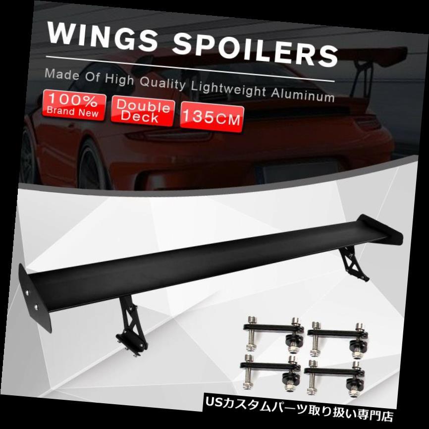 GTウィング 調節可能な135cmトラックGTの翼の競争のスポイラーの単一のデッキの軽量アルミニウム Adjustable 135cm Truck GT Wing Racing Spoiler Single Deck Lightweight Aluminum