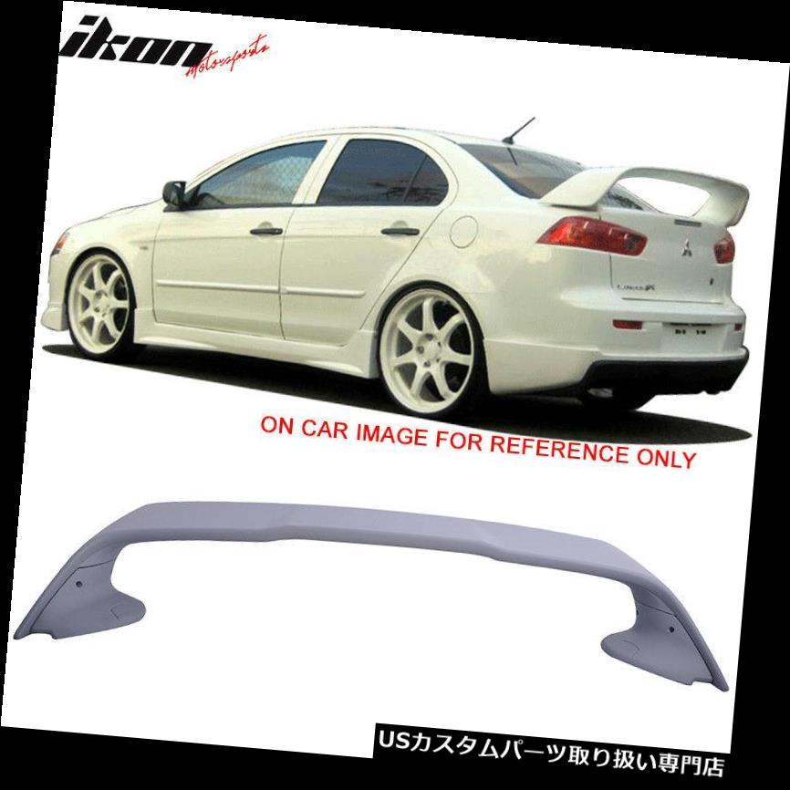 GTウィング 三菱ランサーエボリューション10 XオリジナルEVOスタイルトランクスポイラー08-17に適合 Fits 08-17 Mitsubishi Lancer Evolution 10 X Original EVO Style Trunk Spoiler