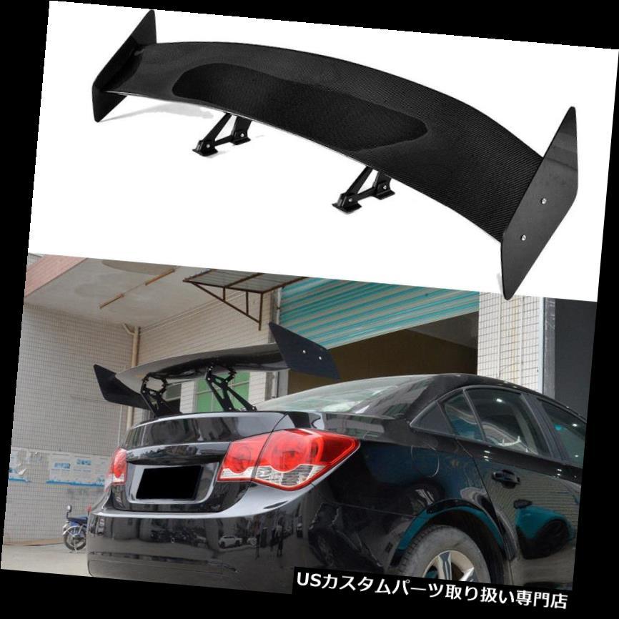 GTウィング 調節可能な普遍的なセダンの炭素繊維の後部GTのトランクのスポイラーの競争の翼 Universal Sedan Carbon Fiber Rear GT Trunk Spoiler Racing Wing Adjustable