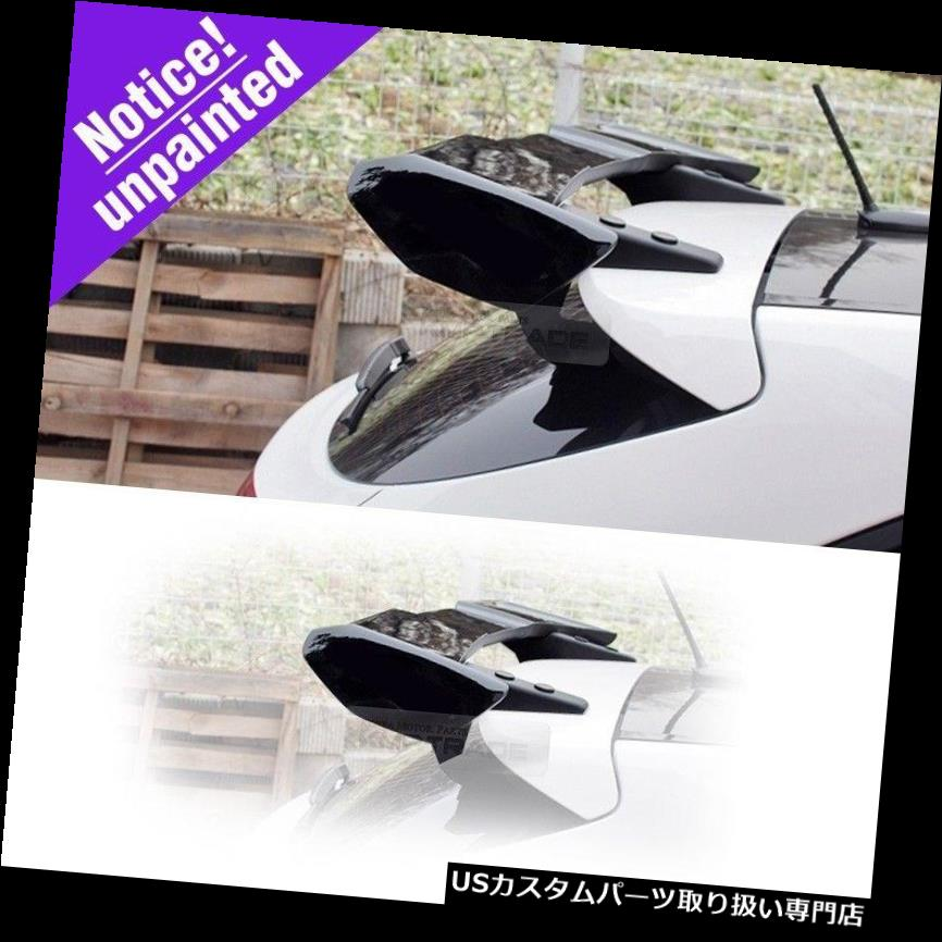 GTウィング リアルーフGT - ヒュンダイ2012 - 2015 i30 / Elantra GT用未塗装ウィングスポイラー Rear Roof GT - Wing Spoiler Unpainted for HYUNDAI 2012 - 2015 i30 / Elantra GT