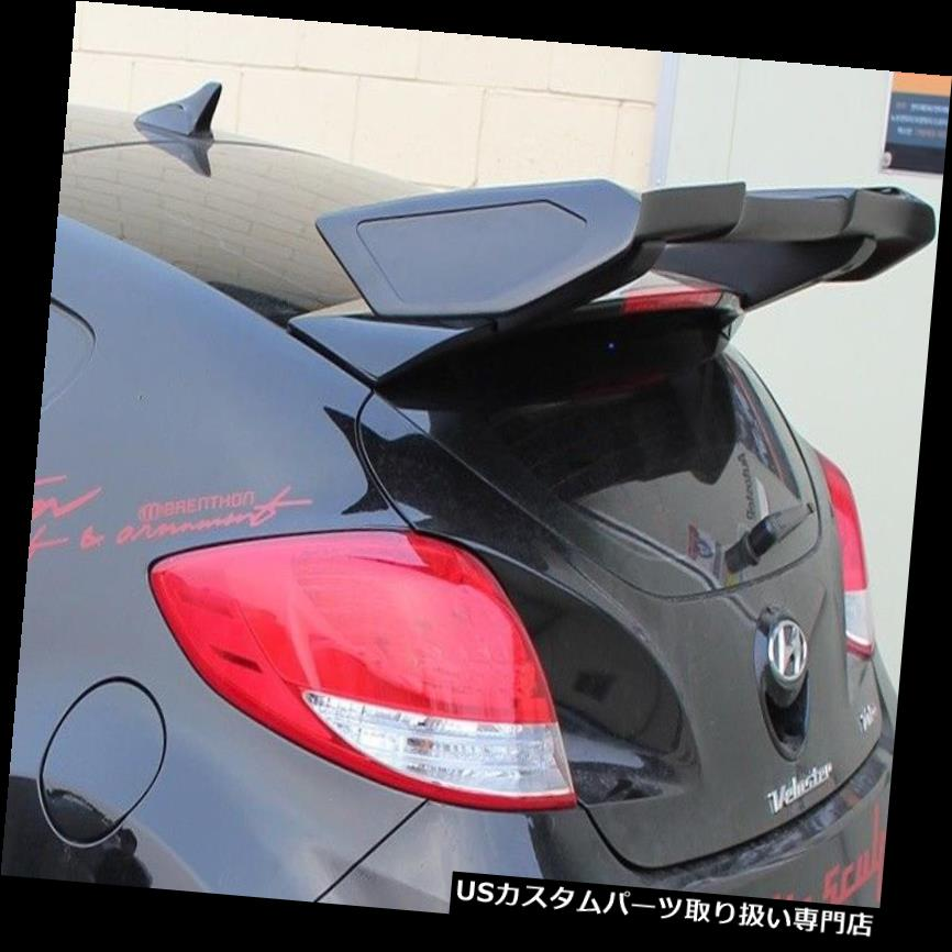 GTウィング NEWリアウイングルーフスポイラーGT-ウイングタイプはヒュンダイVeloster 2011-2015に適合 NEW Rear Wing Roof Spoiler GT-Wing Type fits for Hyundai Veloster 2011-2015