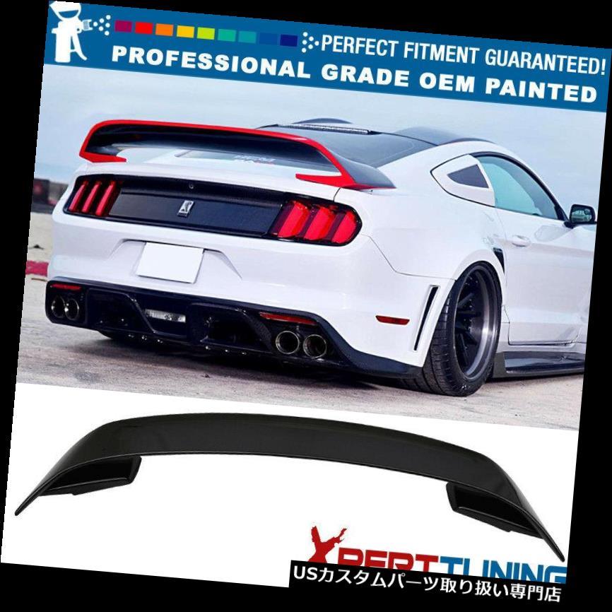 GTウィング 15-19フォードマスタングGT350 V2塗装トランクスポイラー - OEM塗装色 15-19 Ford Mustang GT350 V2 Painted Trunk Spoiler - OEM Painted Color