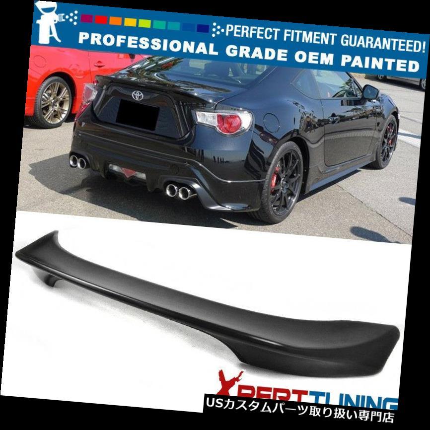 GTウィング 12-15サイオンFRS GT86 TR Dスタイル塗装トランクスポイラー - OEM塗装色に適合 Fits 12-15 Scion FRS GT86 TR-D Style Painted Trunk Spoiler - OEM Painted Color