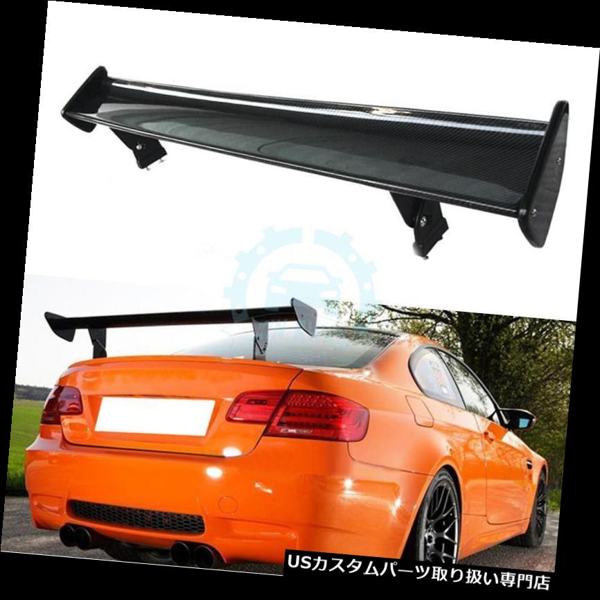 GTウィング カーボンファイバーウィング BMW 1M M3 M5 GT用スポイラーボディキットフィット Carbon Fiber Wings & Spoilers Bodykit Fit For BMW 1M M3 M5 GT