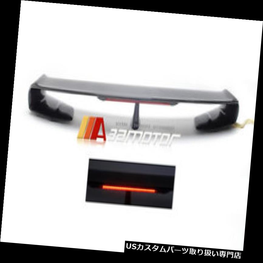 GTウィング 日産GTR GT-R R35 R-35用ブレーキライト付きカーボンファイバートランクスポイラーウイング Carbon Fibre Trunk Spoiler Wing with Brake Light for Nissan GTR GT-R R35 R-35