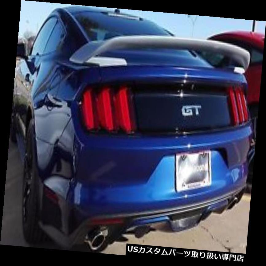 GTウィング 2015 2016フォードマスタングGT350Rスタイルトランクスポイラー翼ABS樹脂未塗装 2015 2016 Ford Mustang GT350R Style Trunk Spoiler Wing ABS Plastic Unpainted
