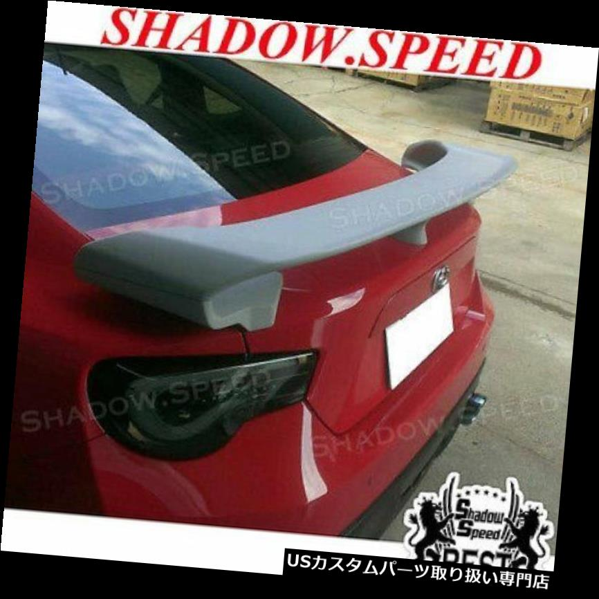 GTウィング SCION FRS / SUBARU BRZ 2013-17 FT86 GT86用ストックABS GTリアトランクスポイラーウイング Stock ABS GT Rear Trunk Spoiler Wing For SCION FRS/SUBARU BRZ 2013-17 FT86 GT86