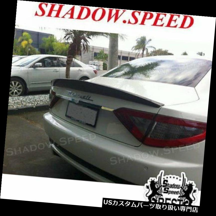 GTウィング Maserati Granturismoクーペ調達トランク用塗装カラーGTトランクスポイラーウイング Painted Color GT Trunk Spoiler Wing For Maserati Gran Turismo Coupe Raised Trunk
