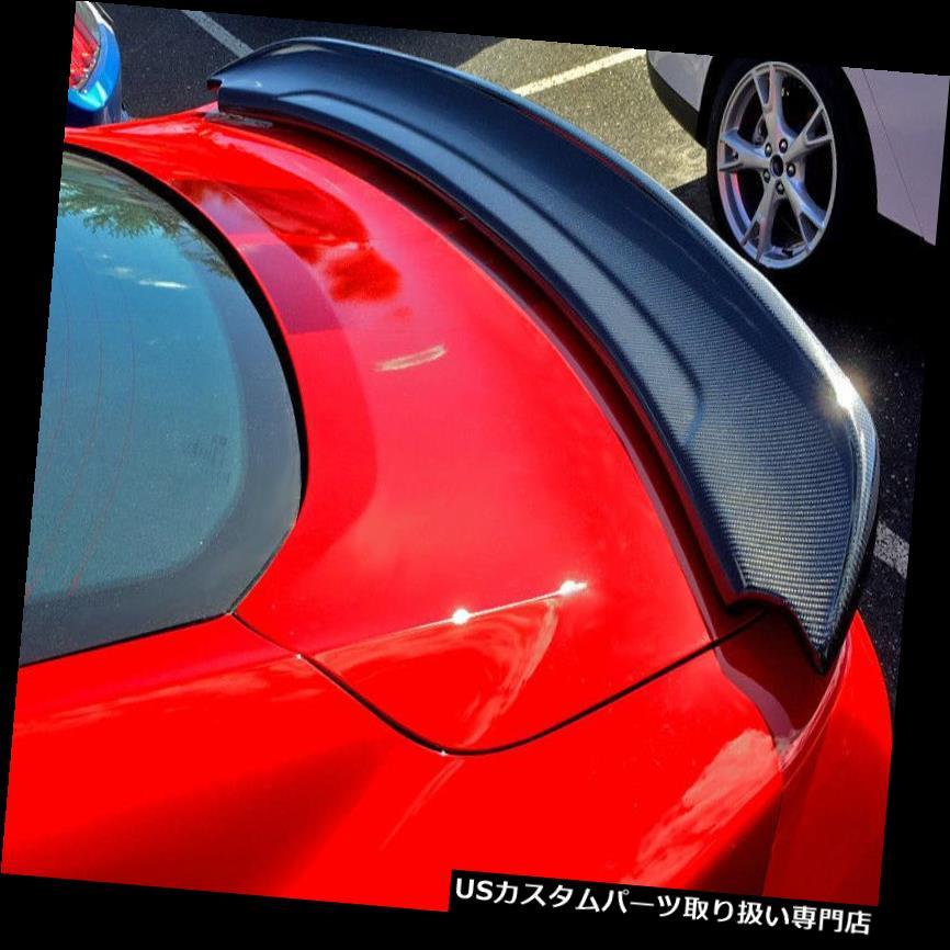 GTウィング 2015-2018マスタングGT350トラックパックスタイルリアトランクカーボンファイバースポイラーウイング 2015-2018 Mustang GT350 Track Pack Style Rear Trunk Carbon Fiber Spoiler Wing