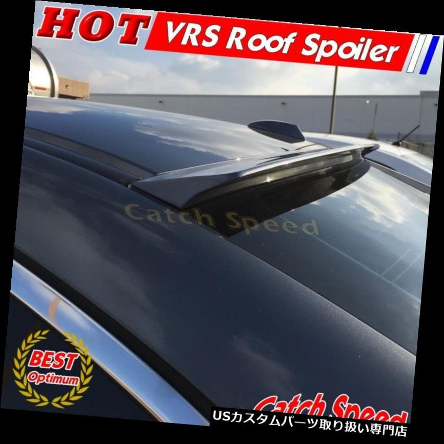 GTウィング Infiniti Fuga 350GTセダン2004-09用フラットブラックVRSタイプリアルーフスポイラーウイング Flat Black VRS Type Rear Roof Spoiler Wing For Infiniti Fuga 350GT Sedan 2004-09