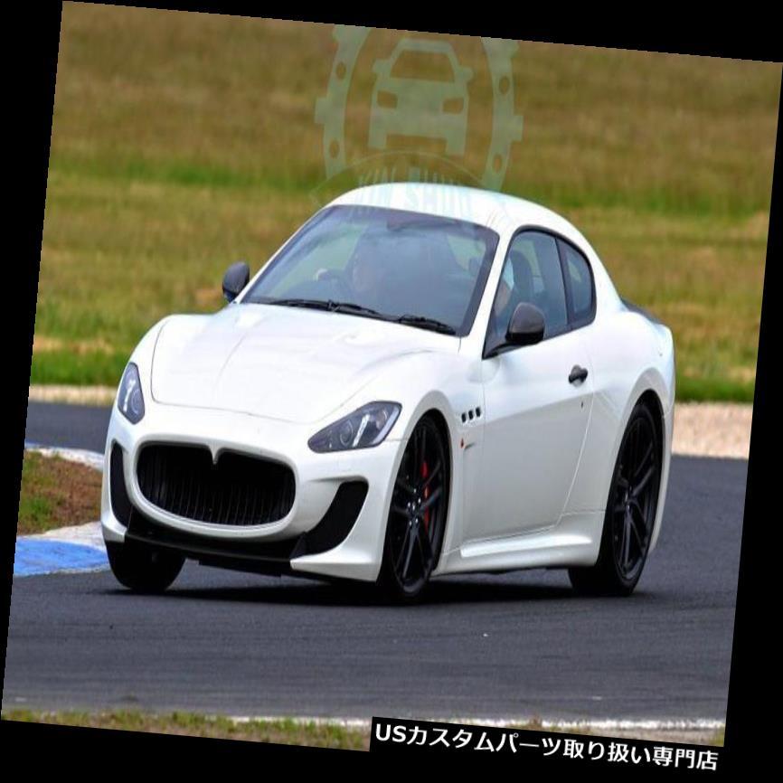 GTウィング マセラティGT 2007-2015用カーボンファイバーリアバンパースポイラーブーツウィングリップ Carbon Fiber Rear Bumper Spoiler Boot Wings Lip For Maserati GT 2007-2015