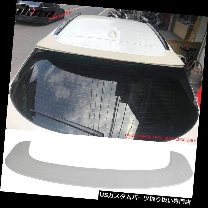 GTウィング 17-18マツダCX5 KF第2世代SUV 5Dr IKONスタイルルーフスポイラーウイングにフィット - ABS Fits 17-18 Mazda CX5 KF 2nd Gen SUV 5Dr IKON Style Roof Spoiler Wing - ABS