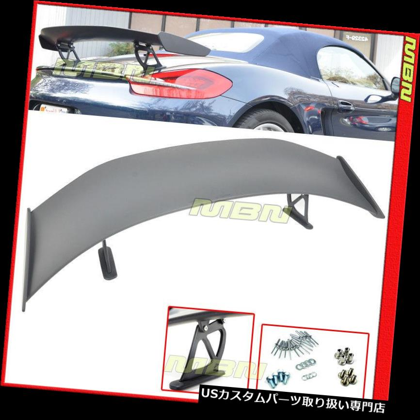 GTウィング 13-16のためのGT4様式のABS後部トランクの翼のスポイラーの唇ポルシェ981 ケイマン GT4 Style ABS Rear Trunk Wing Spoiler Lip For 13-16 Porsche 981 Boxster & Cayman