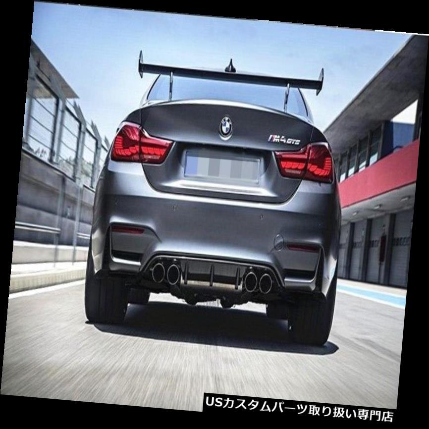 GTウィング BMW F8X M3 M4 M2のM4 GTSスタイルカーボンファイバーリアスポイラーGTウイング M4 GTS Style Carbon Fiber Rear Spoiler GT Wing For BMW F8X M3 M4 M2