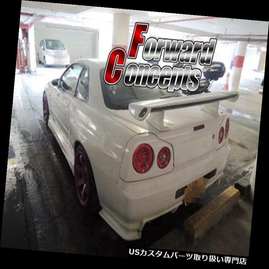 GTウィング スカイラインGTT R33 GTS R32 350GT用カーボンファイバーR34 GTRリアウィングトランクスポイラー  Carbon Fiber R34 GTR Rear Wing Trunk Spoiler for Skyline GTT R33 GTS R32 350GT