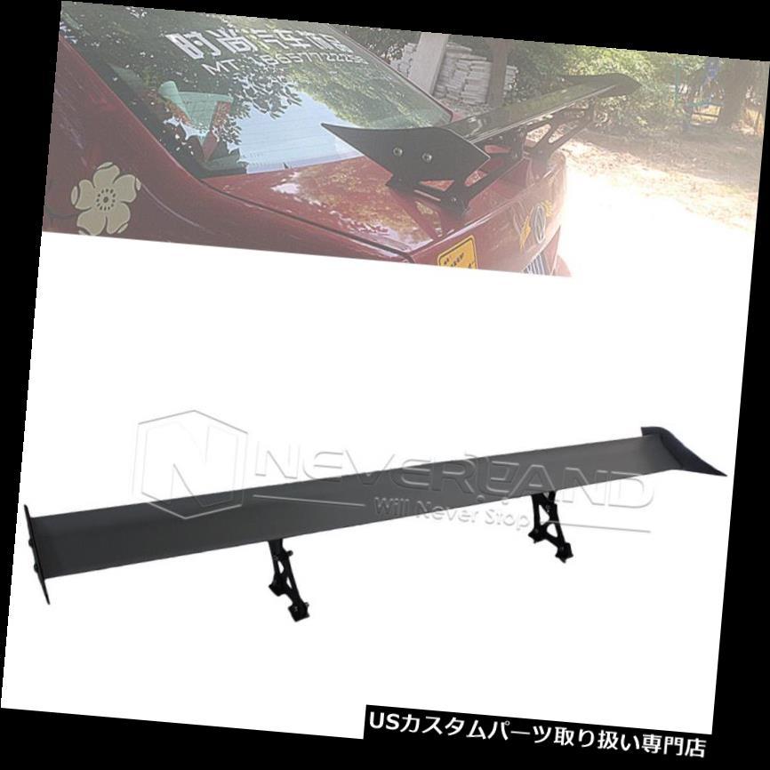 GTウィング 135 cm軽量アルミCARレーシングGTスポイラーテールウィングマウントユニバーサル 135cm Lightweight Aluminum CAR Racing GT Spoiler Tail Wings Mounted Universal