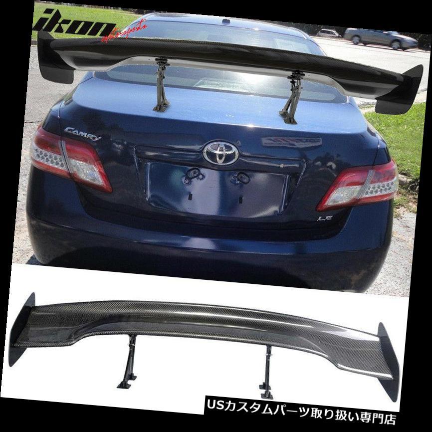 GTウィング 57インチJDM GT RSタイプカーボンファイバーデッキトランクスポイラーウイング(トヨタ) 57 Inch JDM GT RS Type Carbon Fiber Deck Trunk Spoiler Wing(Toyota)