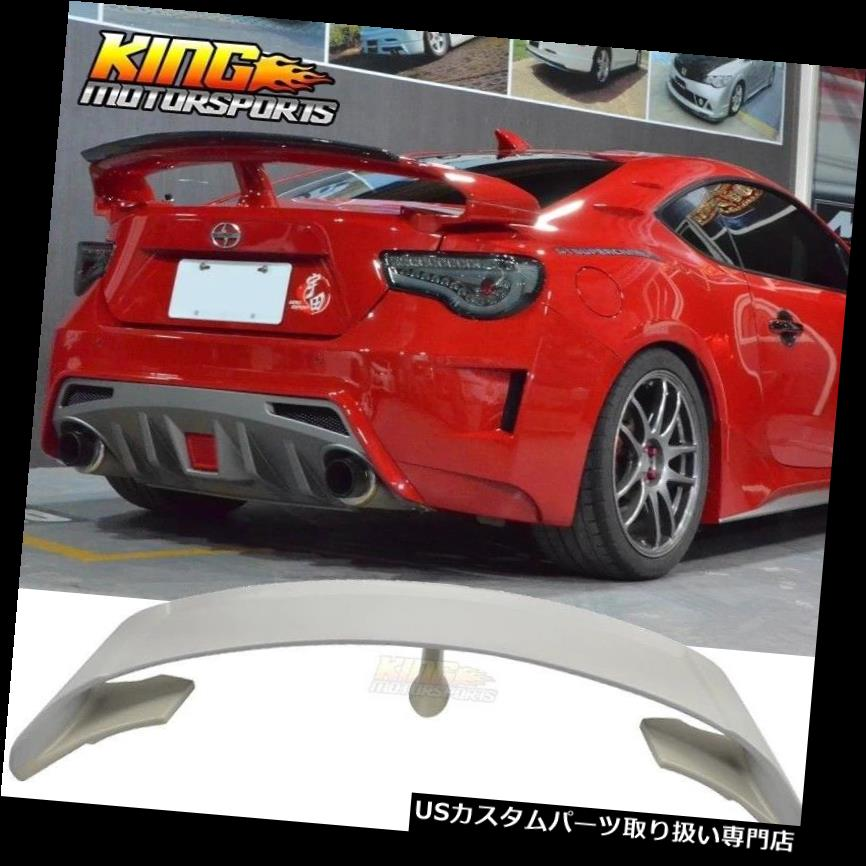 GTウィング FRS BRZ GT86 2Dr GスタイルリアトランクスポイラーリップウィングABS未塗装 Fit For FRS BRZ GT86 2Dr G-Style Rear Trunk Spoiler Lip Wing ABS Unpainted