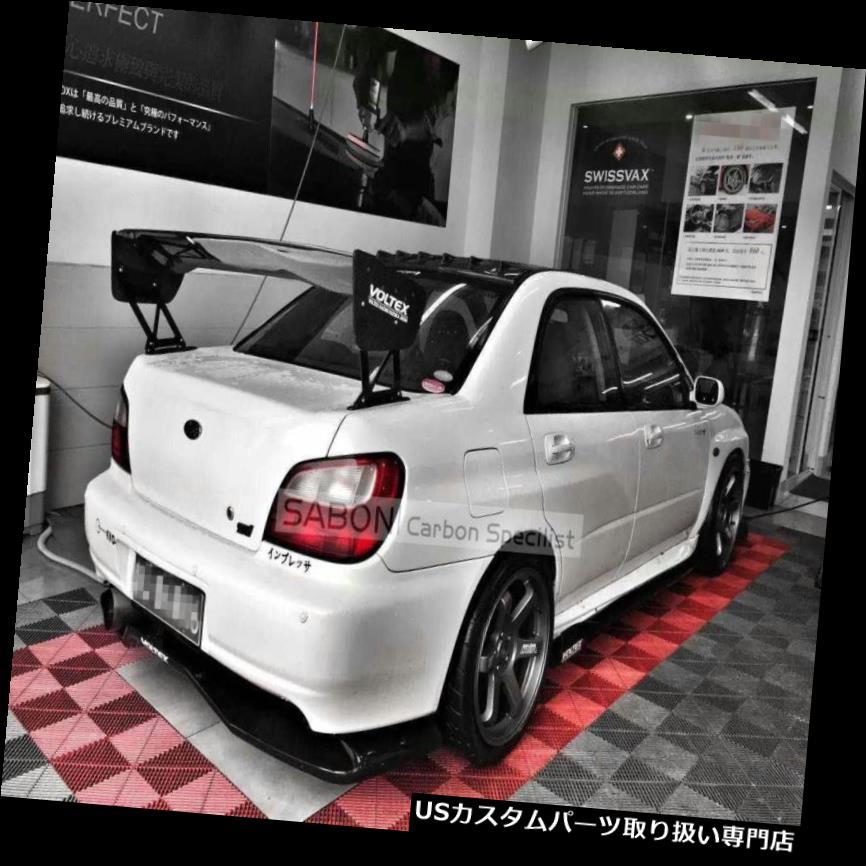 GTウィング 第7-9スバルインプレッサWRX / STIスポイラーGTウイング// Voltex Style //カーボンファイバーCF 7-9th Subaru Impreza WRX/STI Spoiler GT Wing // Voltex Style //Carbon Fiber CF