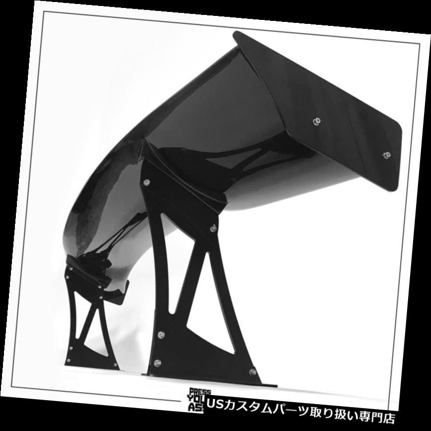 GTウィング マットスタンド付きカスタムセットスポイラーベンチgtウイングKINK STYLE黒光沢ブレード Custom set spoiler bench gt wing KINK STYLE black glossy blade with matte stands
