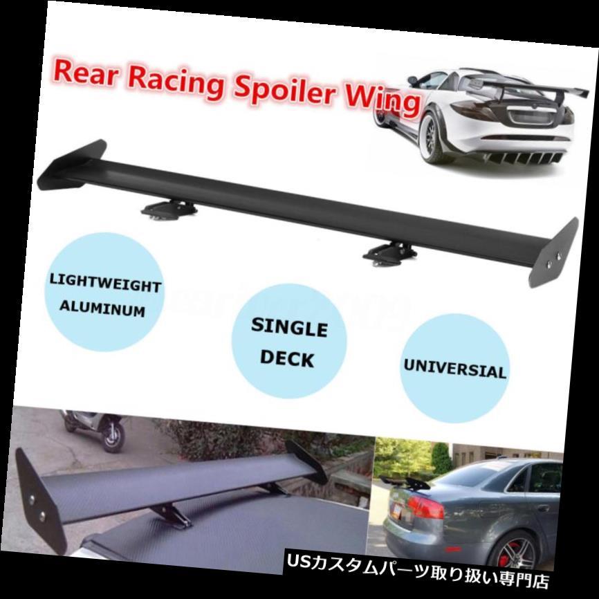 GTウィング 普遍的な自動軽量のアルミニウム調節可能なトランクGTの後部競争のスポイラー翼 Universal Auto Lightweight Aluminum Adjustable Trunk GT Rear Racing Spoiler Wing
